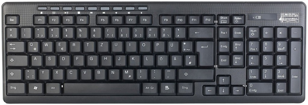 testbericht generalkeys tastatur maus kombination. Black Bedroom Furniture Sets. Home Design Ideas